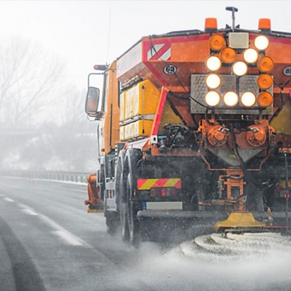 Efficient deicing with high purity road salt